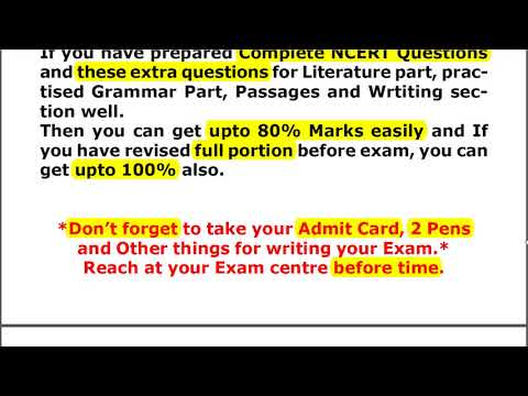 How to Attempt English Paper Effectively || Complete Strategy || Class 10 CBSE || 2018 || MG Sir