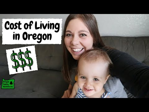 Cost of Living in Southern Oregon (for Families)