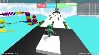 Roblox Mega Fun Obby Ep 31: Levels 412-414 Hholykukingames Playing