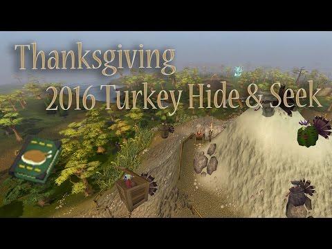 RuneScape - Turkey Hide & Seek Guide (Thanksgiving 2016)