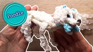 Rainbow Loom  Poodle Part 1/3 Loombicious