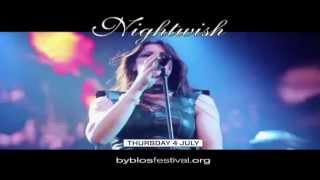 Nightwish at Byblos Festival 2013 - Teaser