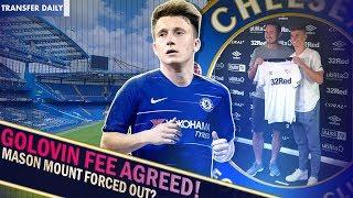 CHELSEA AGREE GOLOVIN FEE || Chelsea Transfer Daily