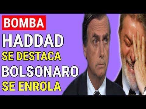 ELEIÇÕES 2018! Haddad se destaca e Bolsonaro se enrola em entrevistas no JN