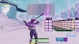 Playing Going Bad by Drake on a Fortnite piano