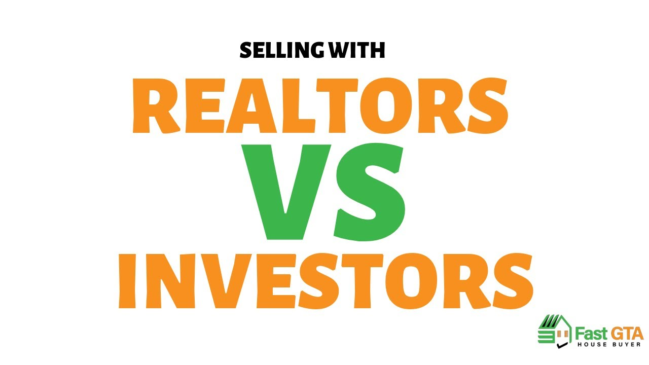 Hiring a realtor vs selling to a professional Investor