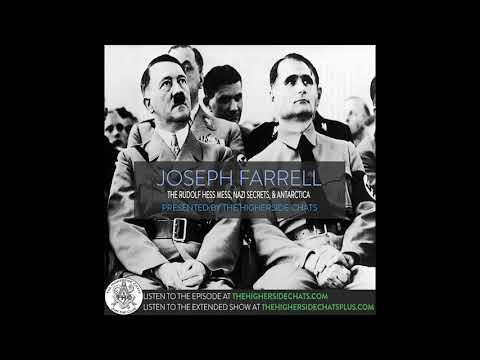 Dr. Joseph Farrell | The Rudolf Hess Mess, Nazi Secrets, & Antarctica