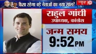 Rahul Gandhi : Horoscope And Predictions In 2016