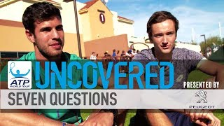 Seven Questions With #NextGenATP Khachanov & Medvedev
