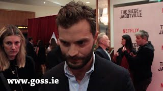 Jamie Dornan admits it's 'dangerous' to influence his kids future