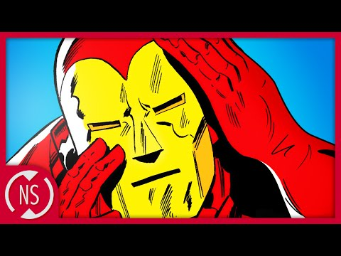 That Time IRON MAN's Mask Had a Nose?! || Comic Misconceptions || NerdSync