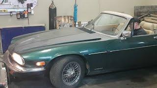 ЛЕГЕНДА мирового авто-прома Jaguar XJ-S V12 на ремонте у ДАРНИЦКИХ СУРОВЫХ