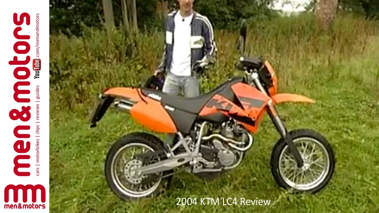 2004 ktm lc4 review youtube. Black Bedroom Furniture Sets. Home Design Ideas