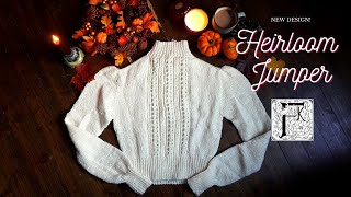 Knitting a Victorian/Edwardian-Style Jumper - The Heirloom Jumper and 8 Outfits!