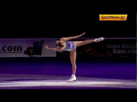 Carolina Kostner SP Transylvanian lullaby   Devil's trill   Tartini  It's o so quiet 2013