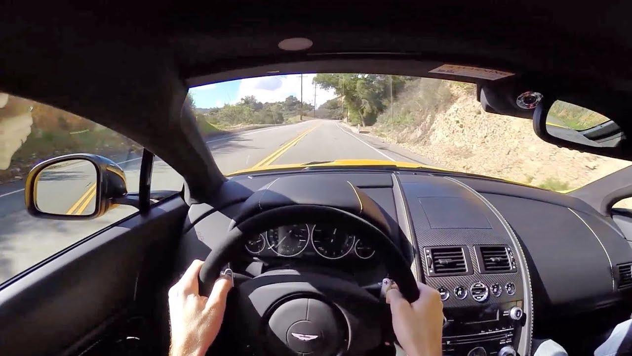 2015 Aston Martin V12 Vantage S - WR TV POV Canyon Drive - YouTube