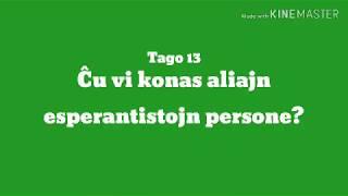 13a Tago – Ĉu vi konas aliajn esperantistojn persone? #30DRYC