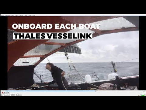 Thales becomes the official communications partner for IMOCA - Thales