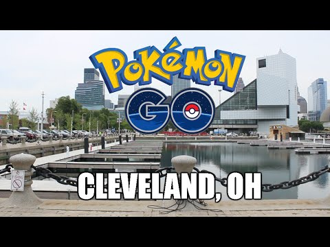 Pokemon Go in Cleveland Ohio!