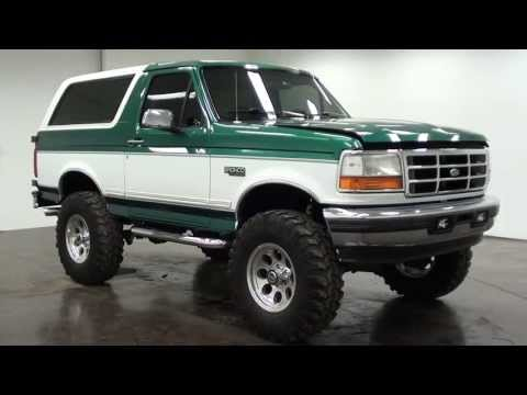 Pictures Of Ford Broncos - 1996 Ford Bronco