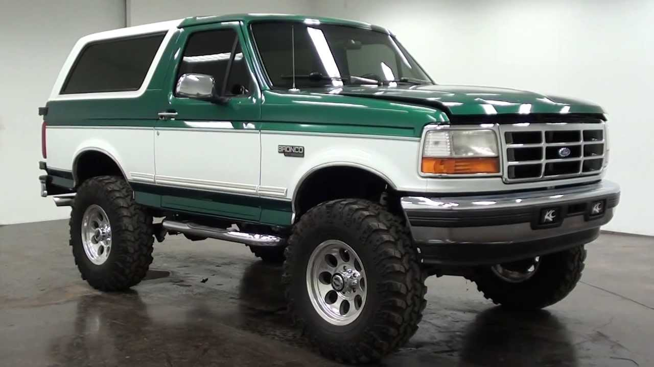 Trucks Green Neon Lifted