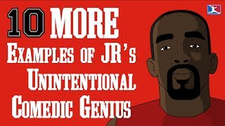 100,000 SUBSCRIBERS SPECIAL -- 10 More Examples of JR Smith's Comedic Genius (3rd VIDEO) thumbnail