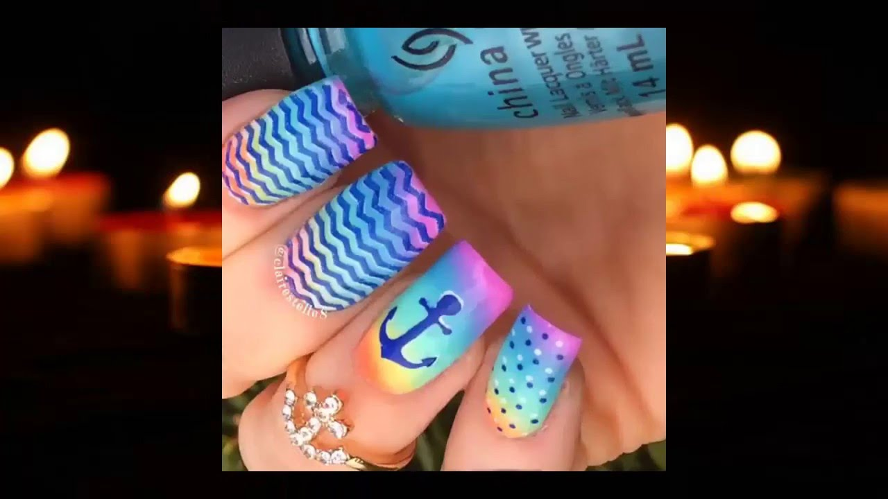 summer nail color 6 hottest