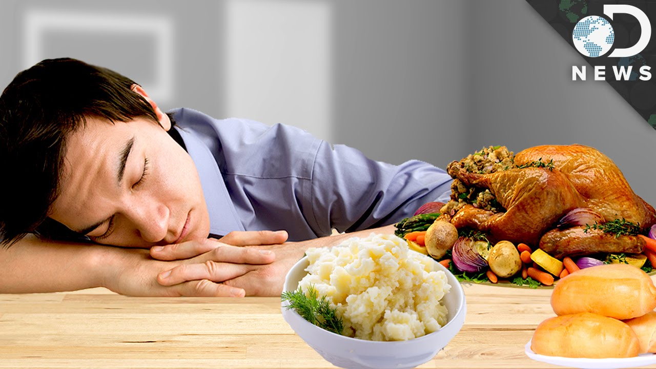 What Really Causes A Food Coma Youtube