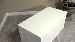 Pleasant Bay Painted Deck Box - White - Product Review Video
