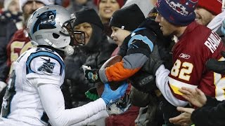 Ted Ginn Jr. Gives Game Ball Away