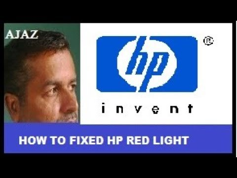 How To Fixed HP Red Light Beep
