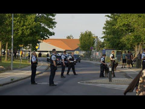 17.06.20 Stort politiopbud til masseslagsmål på Motalavej i Korsør