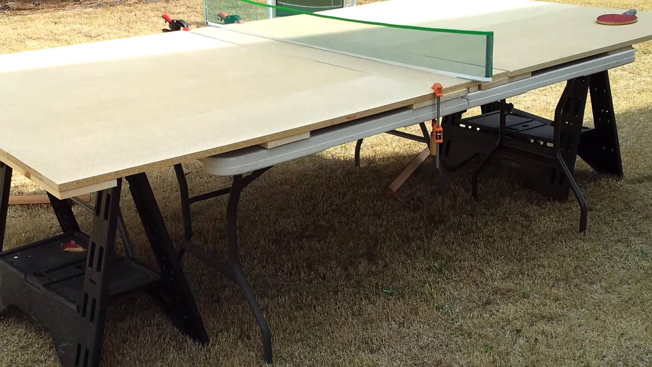 Build Your Own Ping Pong Table Brokeasshome Com