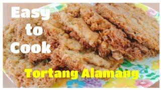 Crispy Tortang Alamang l Shrimp Fritters l Budget Ulam