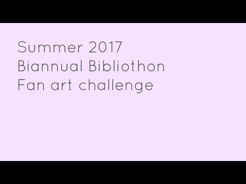 Fan art Challenge-Summer Biannual Bibliothon 2017