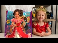HUGE Elena of Avalor Surprise Present Blind Bags Disney Princess Toys for Girls Kinder Playtime