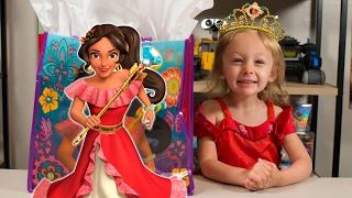 HUGE Elena of Avalor Surprise Present Blind Bags Disney Princess Toys for Girls Kinder Playtime