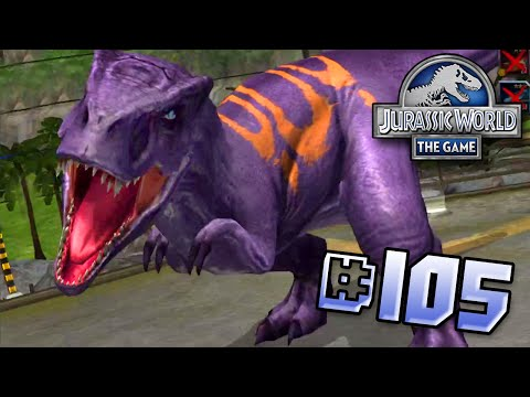 Allosaurs Looks Awesome! Brawlasaurs || Jurassic World - The Game - Ep 105 HD