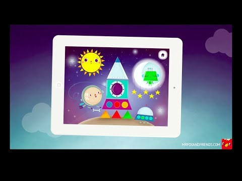 Mr.Fox and shapes - Trailer / iPad game for kids / toddlers