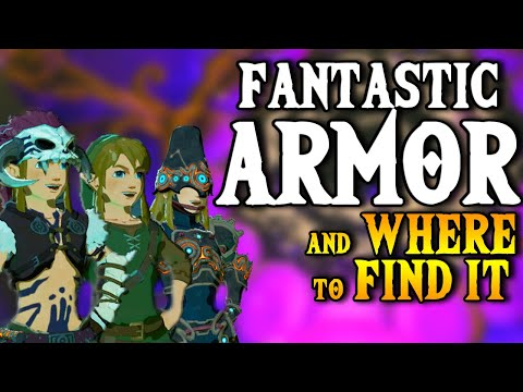 Fantastic Armor & Where to Find it - Breath of the Wild (All Sets)