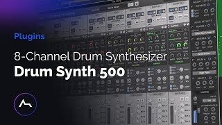 Drum Synth 500 8-Channel Drum Synthesizer