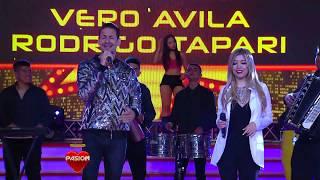 Veronica Avila Ft Rodrigo Tapari en Pasion De Sábado (5-8-2017)