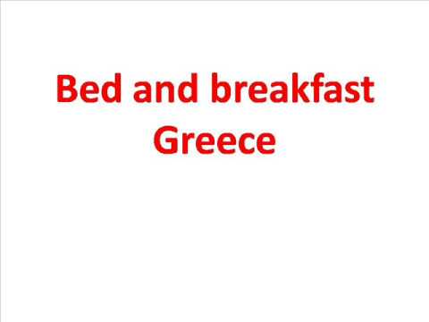 Bed and breakfast Greece