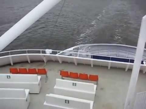 22.06.2010. Saaremaa Island . Kuivastu - Virtsu . Сааремаа .mpg