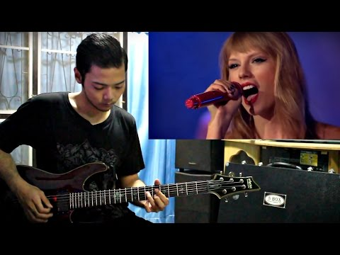 Taylor Swift - Sparks Fly [Guitar Cover] By Wan