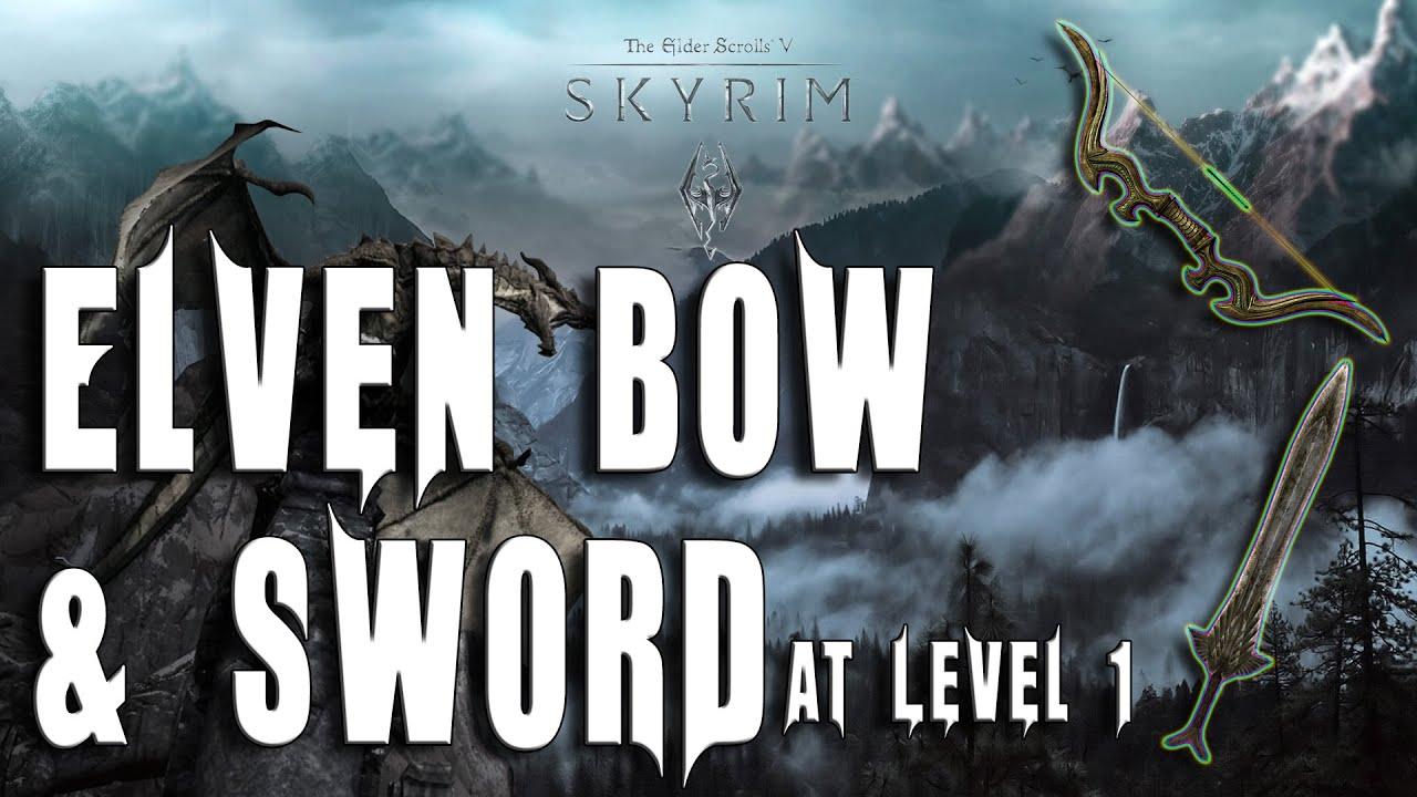 how to make a skyrim sword