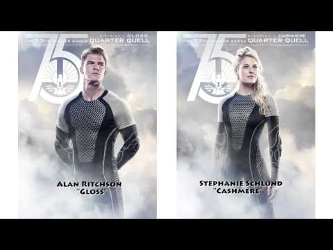HUNGER GAMES: CATCHING FIRE Actors Alan Ritchson and Stephanie Leigh Schlund on CASHMERE AND GLOSS