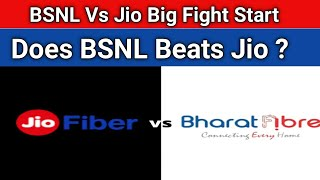 BSNL Vs Jio Big Fight Start   Does BSNL Beats Jio in Speed ?