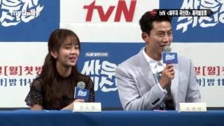 """'싸우자 귀신아' 김소현(Kim So hyun)·옥택연(2PM Ok Taecyeon) """"5% 돌파시 강남서 싸우겠다"""" [MD동영상]"""