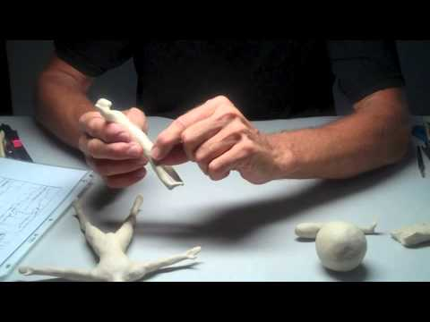 Star Man - Introduction to Sculpting the Human Figure - Creating the Maquette